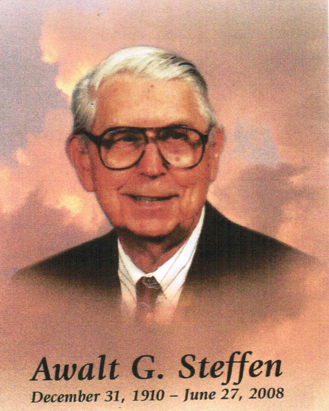 Awalt G Steffen Memorial ScholarshipProfile Picture